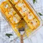 Butternut Squash Lasagna Rolls