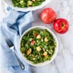 Apple Arugula Salad with Maple Vinaigrette