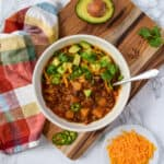 Slow Cooker Fall Harvest Chili